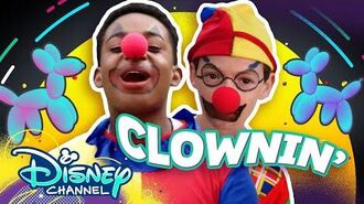 Let's Be Clowns 🤡 Do it Duo Raven's Home Disney Channel
