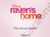 The Foreign Identity