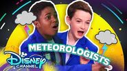 Let's Be Meteorologists ⚡- Do it Duo - Raven's Home - Disney Channel