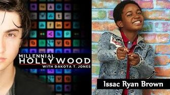 Issac Ryan Brown Millennial Hollywood with Dakota T
