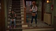 Tess On The Steps