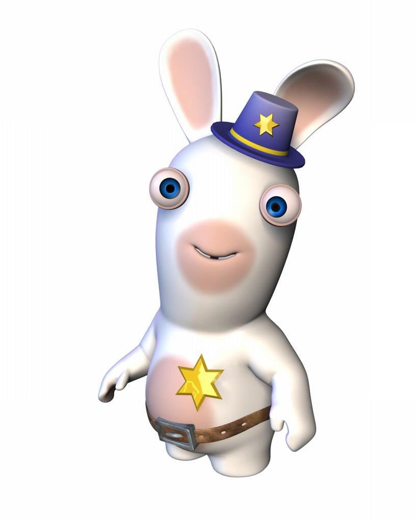 Cop Rabbid  Raving Rabbids 3 Wiki  FANDOM powered by Wikia