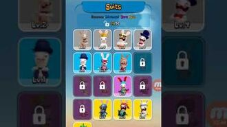 Rabbids crazy rush all costume and little bit of gamplay