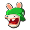 Icon Rabbid Luigi