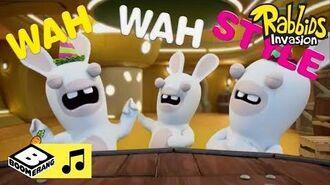 Rabbids Invasion Karaoke Wah Wah Style Boomerang Africa