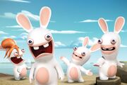 Raving-Rabbids-Invasion-Nickelodeon-Ubisoft-Nicktoons-Nicktoon-Animation-Characters-Cast-Group Press-Nick