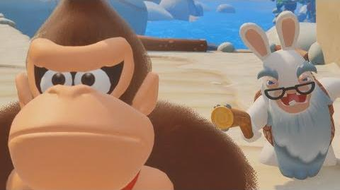 Mario + Rabbids Donkey Kong Adventure - The Movie All Cutscenes HD