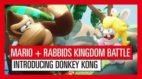Mario + Rabbids Kingdom Battle - Introducing Donkey Kong