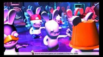 RABBIDS LAND MUSIC DON'T STOP THE PARTY