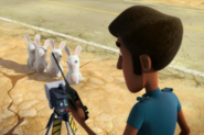 Rabbids Invasion Officer Garret (Rabbid Radar)