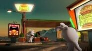 Rabbids at Kakins Burger