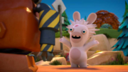 Rabbids Invasion Professor Mad Rabbid