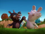 Mad Rabbid and the Infernal Mole