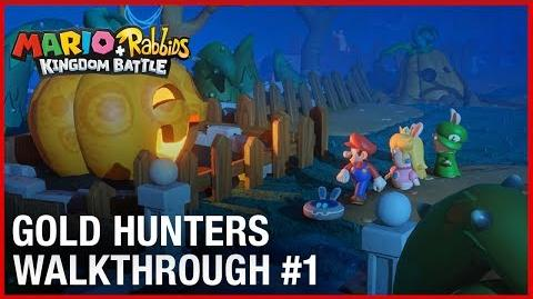 Mario + Rabbids Gold Hunters Dev Team Walkthrough 1 Ubisoft NA