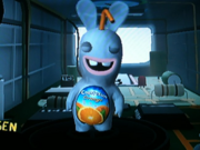 Rabbids Go Home Capri Sun Pouch Rabbid (Inside the Wii Remote)