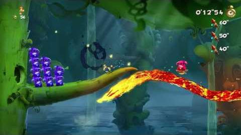 Rayman Legends - Ray and the Beanstalk Invaded - 18