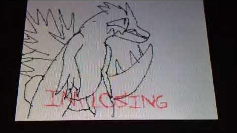 Godzilla nes creepypasta flipnote Aisenma