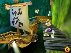 Rayman, the warship