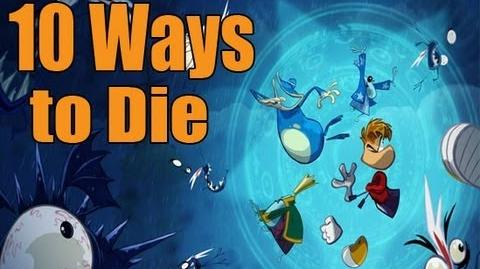 10 Ways to Die in Rayman Origins - Trailer