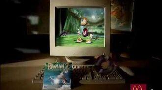 Rayman 2 McDonald's Commercial