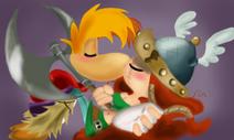 Rayman and Barbara XOXO