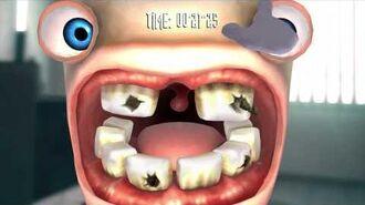 Rayman Raving Rabbids Walkthrough Bunnies Don't Use Toothpaste