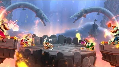 Rayman Legends - All music levels 100%