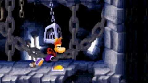 Rayman Raving Rabbids - Giant Anti-Toon boss