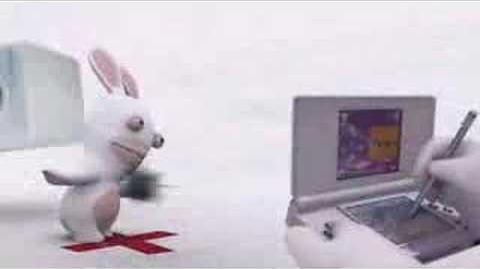 Bunnies in the wind