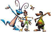 Rayman;LacMac;Betina;Flips;Cookie