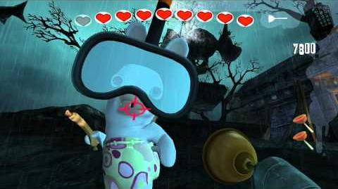 Rayman Raving Rabbids Walkthrough Bunnies Don't Rest In Peace