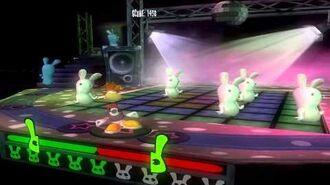 Rayman Raving Rabbids - Bunnies love disco dancing 2 (1000 1000)