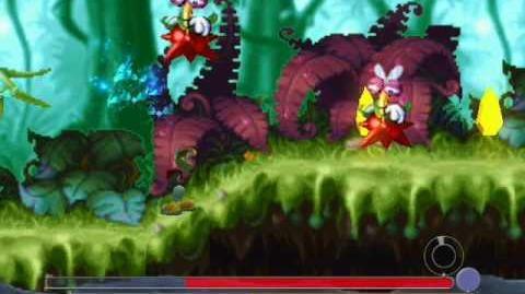 Rayman 3 - 2D Madness Minigame