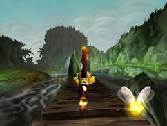 Rayman, riding shell