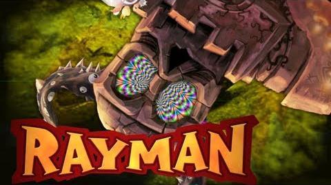 Rayman Origins O Poderoso Golem 7