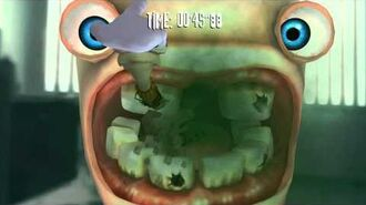 Rayman Raving Rabbids Walkthrough Bunnies Don't Use Toothpaste Part 2-1