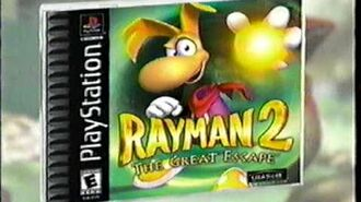 Rayman 2 The Great Escape (PSX) - Commercial