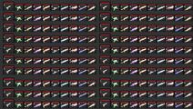 Raze Weapons 1