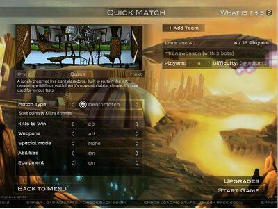 Raze 2 Quick Match