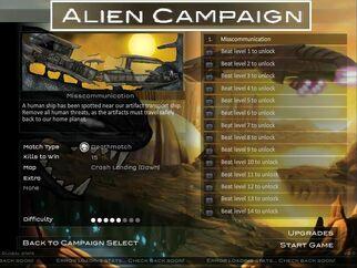 Raze 2 Alien Campaign