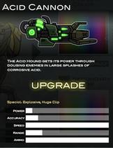 6 Acid Cannon