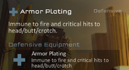 Armor Plating raze 2 equipment