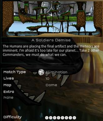 A soldier's demise