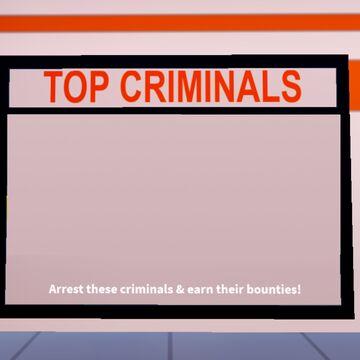 Top Criminals Most Wanted Board Jailbreak Wiki Fandom