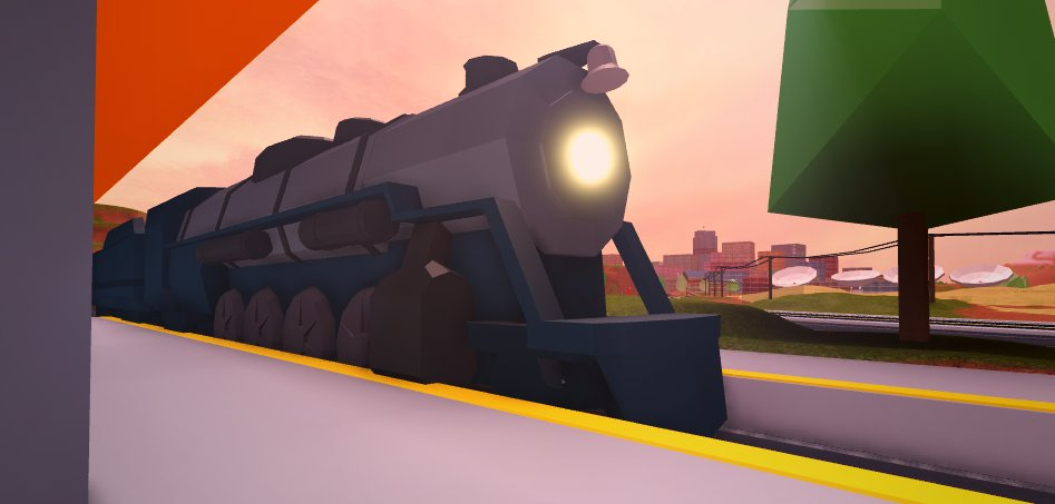 Passenger Train Roblox Jailbreak Wiki Fandom - roblox thomas and friends trains