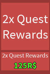 2x Quest Rewards