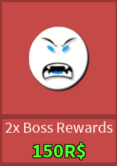2x Boss Rewards
