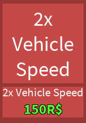2x Vehicle Speed