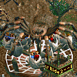 B-Movie Giant Spider Ride RCT2 Icon