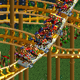 Stampeding Herd Coaster RCT2 Icon